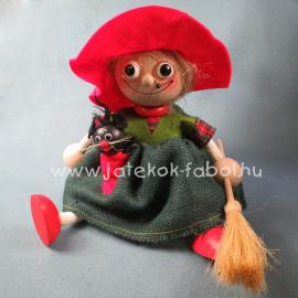 Boszorkány, piros kalapos