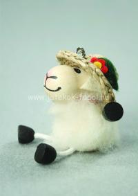 Mini bárány lány, fehér