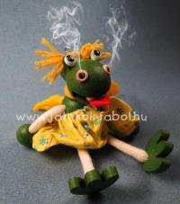 Füstölős sárkány lány